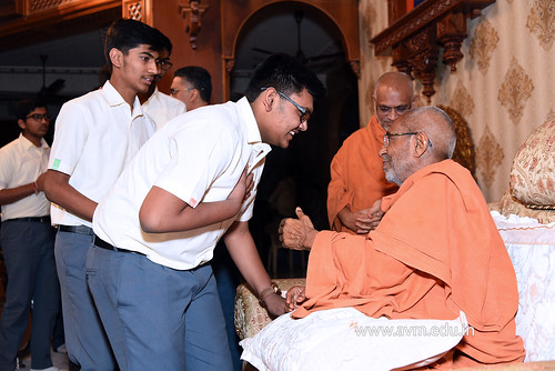 Std-10-11-12-visit-to-Haridham-for-Swamishree's-Blessings-(74) | by Atmiya Vidya Mandir