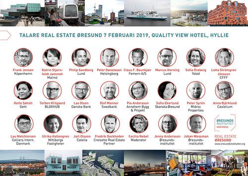 Real Estate Øresund 2019 talare bildcollage SE | by News Oresund