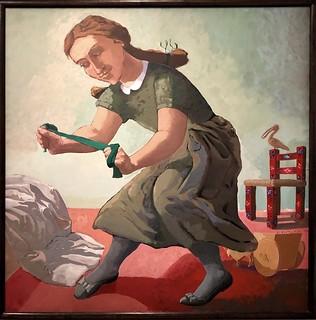The Little Murderess [La petite meurtrière], 1987, Paula Rego