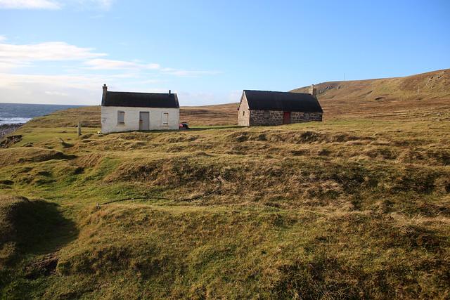 Cottage at Rubha Stoer