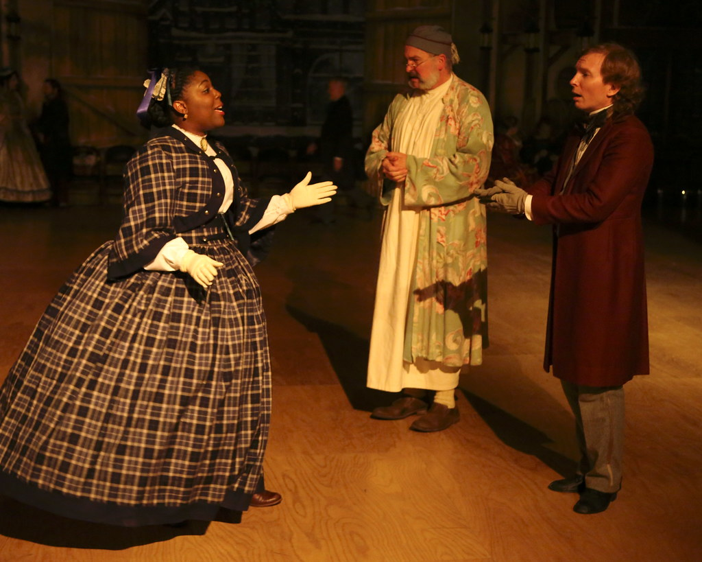 Belle A Christmas Carol.Belle Breaks Off Her Engagement With Young Scrooge While