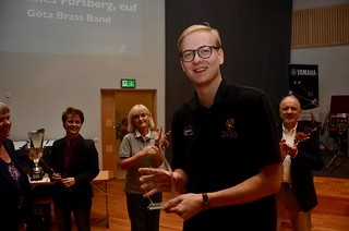 Johannes Forsberg tog hem instrumentalistpriset i Elitdivisionen
