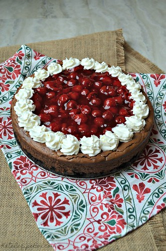 Black Forest Cheesecake 2 | by katesrecipebox