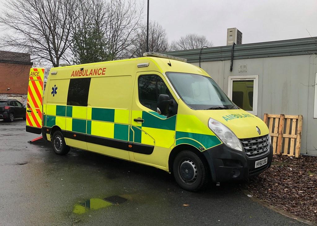 Seen 21/12/2018 on hire to Salford based Hatzola Ambulance… | Flickr