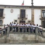 Coimbra Portugal_A CHUC Endocrinology team on a weedend with type 1 diabetes. Alijó City Hall 2018