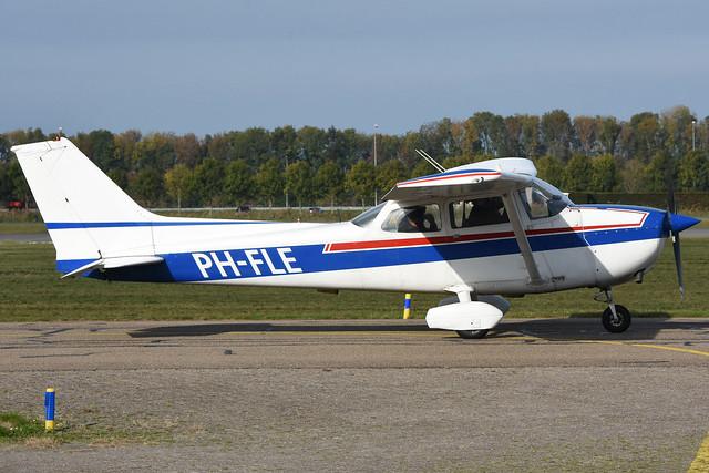 PH-FLE Cessna F.172N @ Lelystad 20-Oct-2018 by Johan Hetebrij