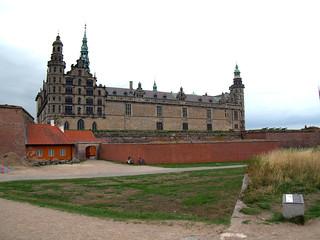 Kronborg Castle in Helsingor, Denmark