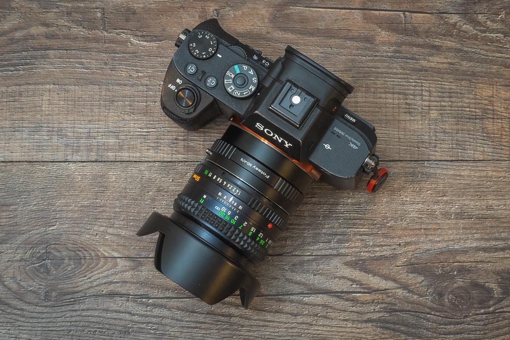 Sony a7RII + Minolta Rokkor 50mm 1:1.4