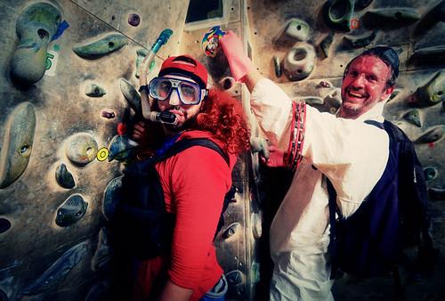 Fantasyclimbing corso di arrampicata il deposito di zio Paperone 21