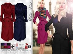 Female Coat - [Eloise-Wool]