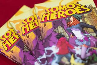 """Presentación de Libro """"Somos héroes""""   by FIL Guadalajara"""