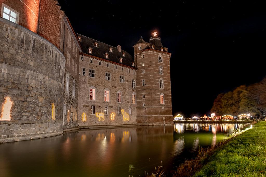 Weihnachtsmarkt Schloss Merode.Weihnachtsmarkt Schloss Merode Guido Albrecht Flickr