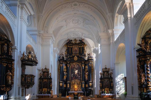 St. Paul, Passau (Blick zum Hochaltar)