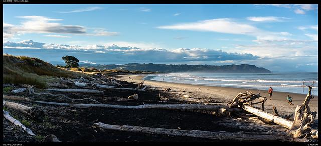 Looking North - Waihi Beach
