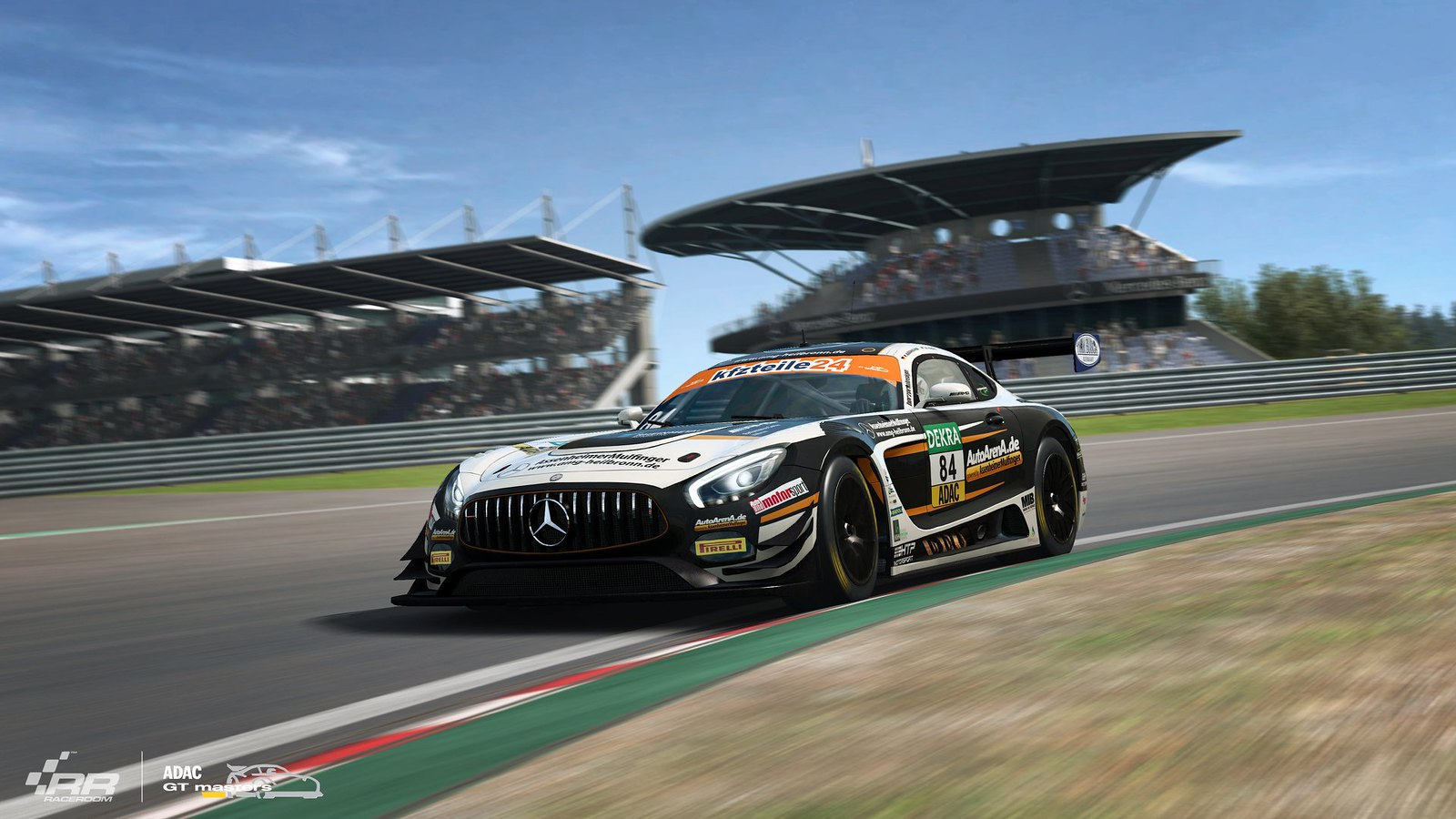 1 RaceRooom Mercedes-AMG teams of ADAC GT Masters 2018