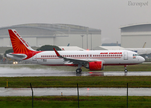 F-WWIC Airbus A320 Neo Air India | by @Eurospot