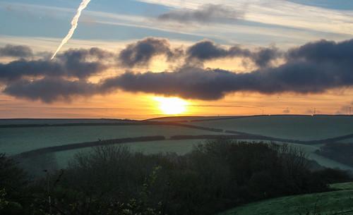 a andygocher canon100d uk wales pembrokeshire littlehaven sunrise morning sun clouds landscape