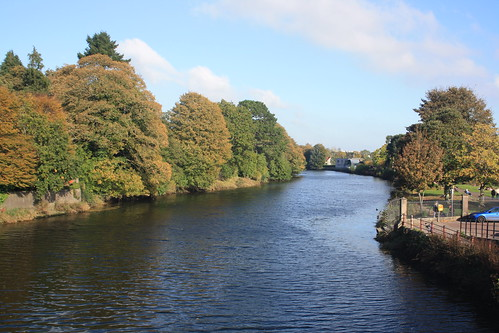 cork ireland irish countycork europe european river lee fitzgerald park autumn fall colours