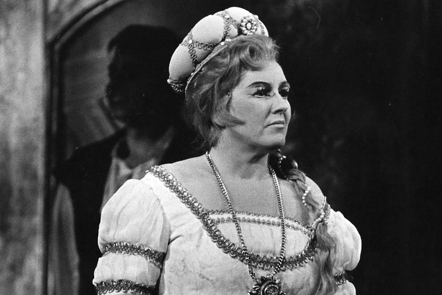 Heather Harper as Eva in The Royal Opera production of 'Die Meistersinger von Nurnberg', 1963 © ROH Collections