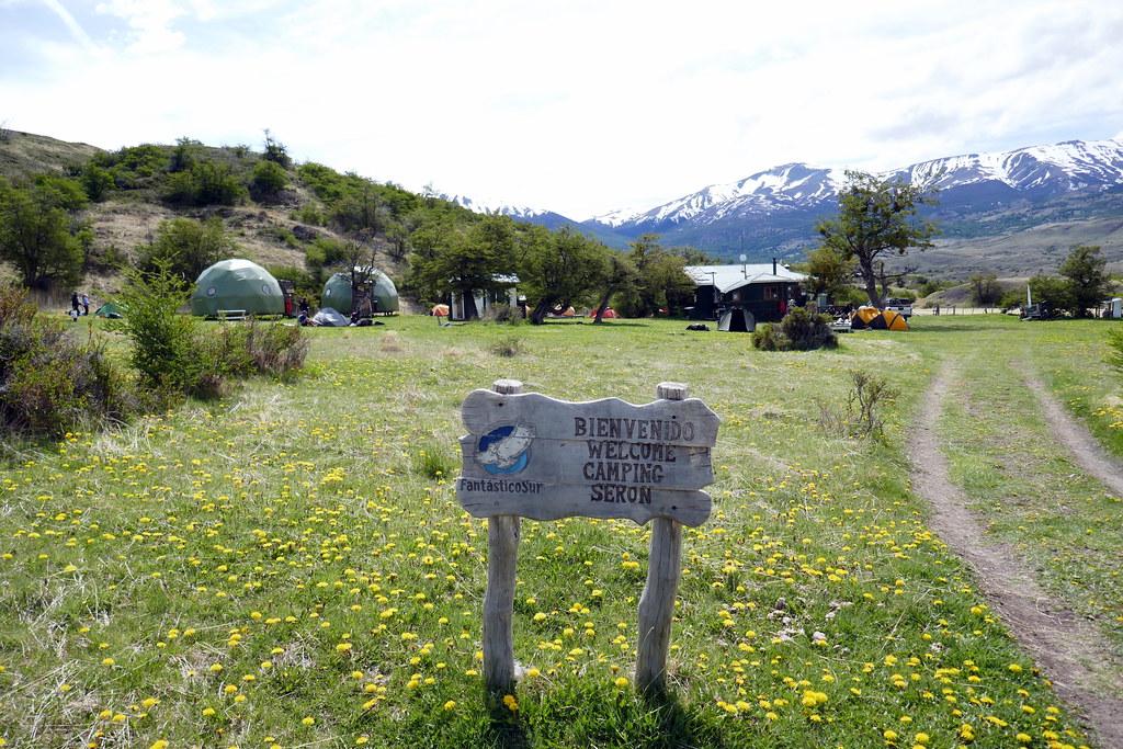 Camp Seron Arrival