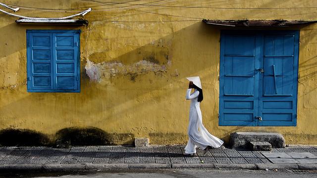 Vietnam - Trinh à Hoi An.