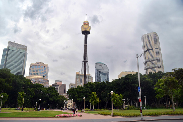 Skyline Central Sydney.