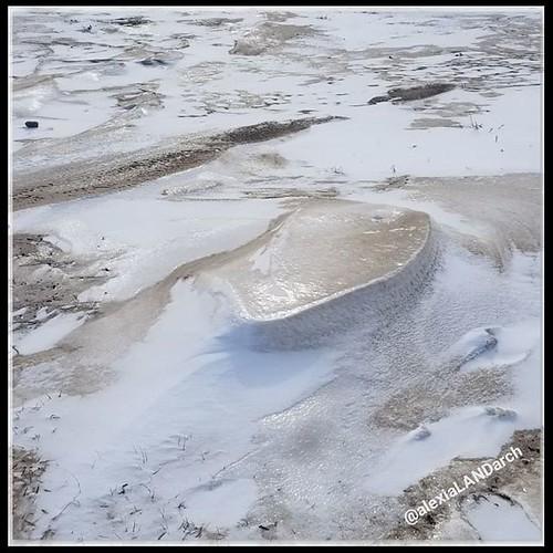 Beach snow sand latte had a glaze too thick to break through walking.... Weeeeeeeee! | by AlexiaLandArch