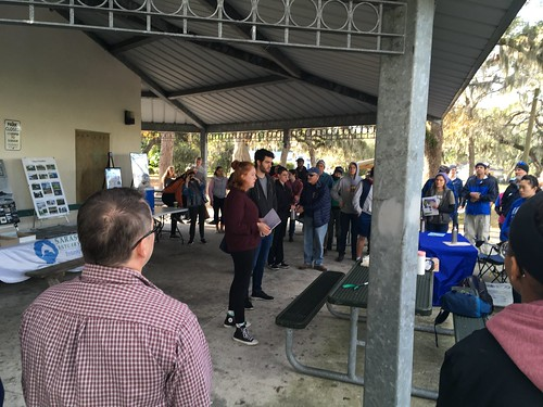 Whitaker Bayou Cleanup and Health Education Event Jan 26 2019   by Sarasota Bay NEP