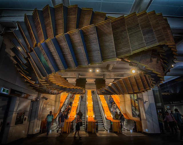 The Old Wooden Escalators