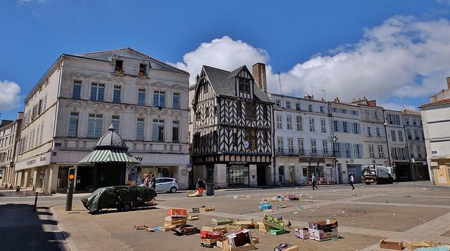 La Rochelle, place du marcé