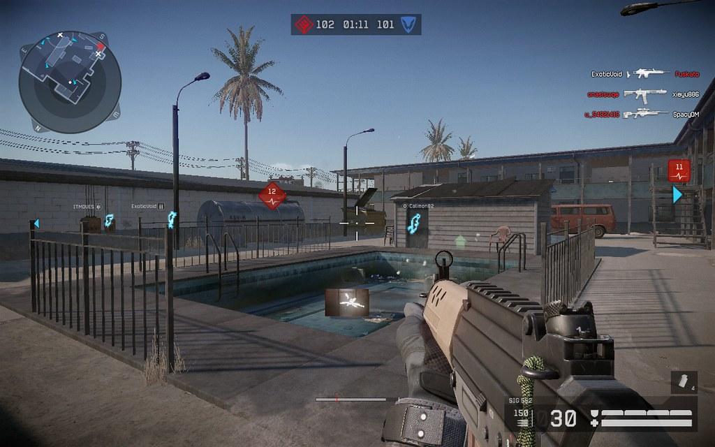 Motel | Warface Multiplayer Map Motel Sig 552 | Luis Piedras