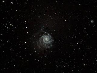 M101  The Pinwheel Galaxy (First try) La galaxie du moulinet