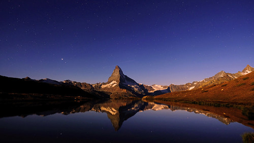 Moonlight & starry sky   by ej - light spectrum