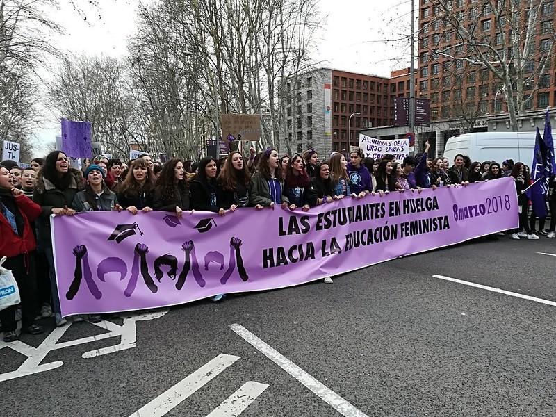 huelga marzo 2018