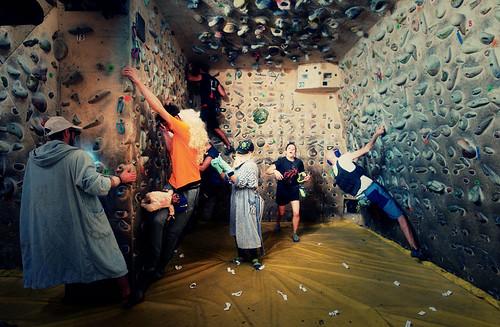 Fantasyclimbing corso di arrampicata il deposito di zio Paperone 8