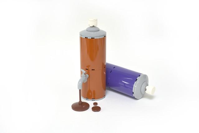 LEGO color Spraypaint tap - atana studio