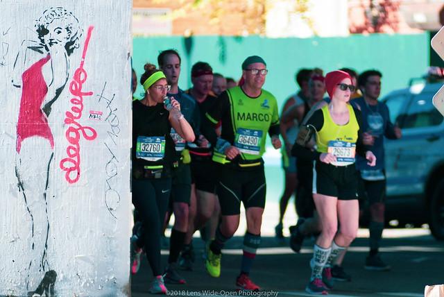 2018 NYC Marathon Runners