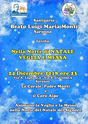 Nella Notte di Natale Veglia e Messa | by Coro Alpe di Saronno