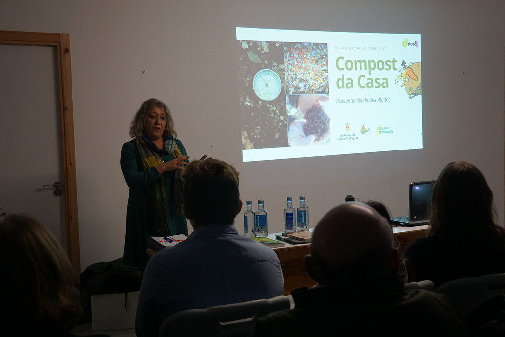 Presentación de resultados do programa Compost da Casa