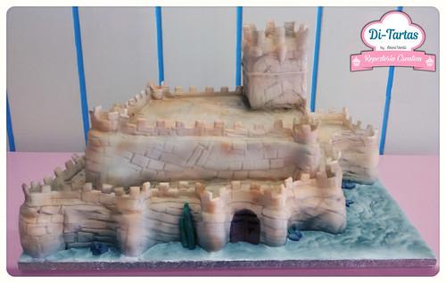 tarta boda medieval castillo de villena copia 2 | by DiTartas