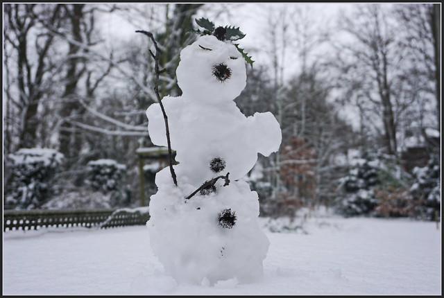 Ich bin ein kleines Schneemännchen ...