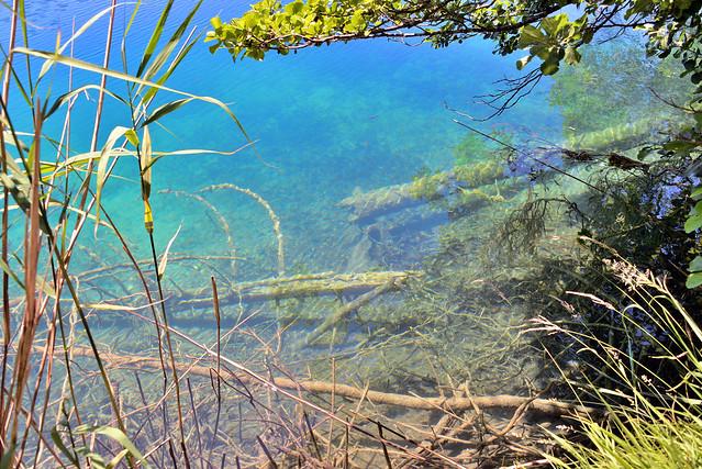 Croatie , Parc national des lacs de Plitvice