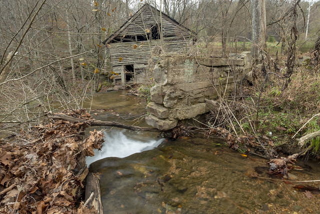 Parrott Mill remains, Little Eagle Creek, Overton County, Tennessee 1