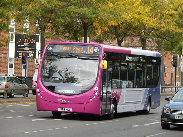 Flickr The Leicester Bus Route First 14 Amp 14a Pool