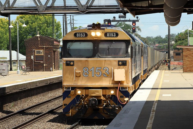 2120N PN garbage waste from crips creek to banksmeadows passing goulburn after doing a driver swap over 8153, 8182
