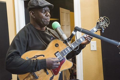Detroit Brooks at WWOZ's 38th birthday - 12.4.18. Photo by Ryan Hodgson-Rigsbee rhrphoto.com.
