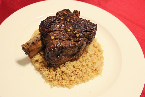 Braised short rib with couscous | by Erin_writes