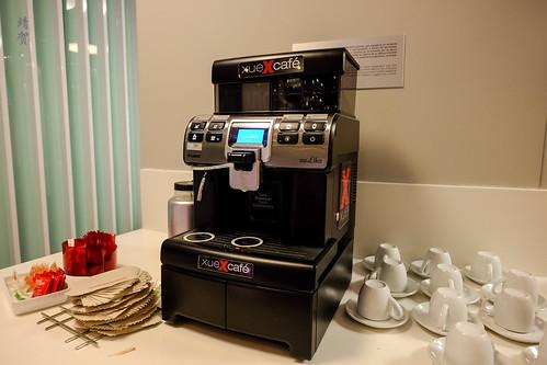 Espresso machine | by A. Wee