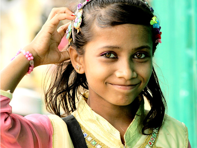 smile of a stateless girl