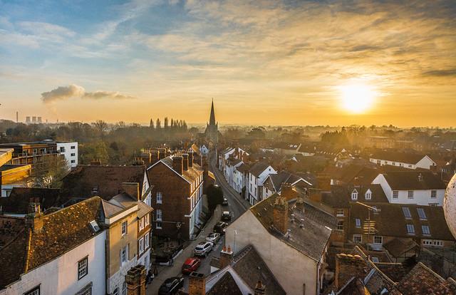 Abingdon Rooftops...